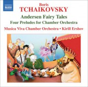 Kirill Ershov: Tchaikovsky: Andersen Fairy Tales - CD
