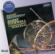 Barry Tuckwell, London Symphony Orchestra, Peter Maag: Mozart: Concertos For Horn - CD