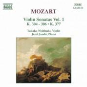 Mozart: Violin Sonatas, Vol. 1 - CD