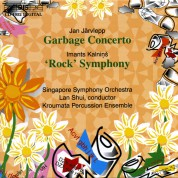 Kroumata Percussion Ensemble, Singapore Symphony Orchestra, Lan Shui: Jan Järvlepp: Garbage Concerto & Rock Symphony - CD