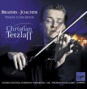 Christian Tetzlaff, Danish National Symphony Orchestra, Thomas Dausgaard: Brahms/ Joachim: Violin Concertos - CD