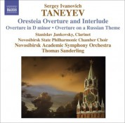 Thomas Sanderling: Taneyev, S.I.: Oresteya: Overture and Entr'Acte / Overture in D Minor / Overture On A Russian Theme - CD