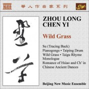 Beijing New Music Ensemble: Zhou, Long: Su / Pianogongs / Taiping Drum / Wild Grass / Taigu Rhyme / Chen, Yi: Monologue / Chinese Ancient Dances - CD