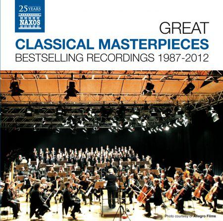 Çeşitli Sanatçılar: Great Classical Masterpieces - Bestselling Naxos Recordings 1987-2012 - CD