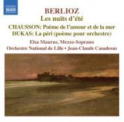Berlioz: Nuits D'Ete (Les) / Chausson: Poeme De L'Amour Et De La Mer / Dukas: La Peri - CD