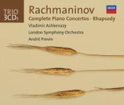 Vladimir Ashkenazy, London Symphony Orchestra, André Previn: Rachmaninov: Piano Concertos 1 - 4 - CD