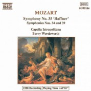 Capella Istropolitana: Mozart: Symphonies Nos. 34, 35 and 39 - CD