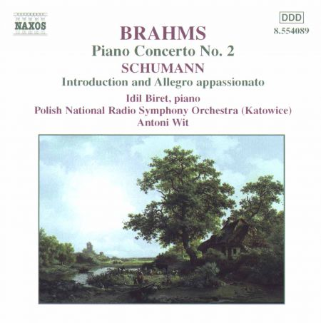 İdil Biret: Brahms: Piano Concerto No. 2 - Schumann: Introduction and Allegro Appassionato - CD