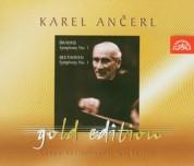 Czech Philharmonic Orchestra, Karel Ancerl: Brahms & Beethoven - CD