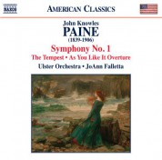 JoAnn Falletta, Ulster Orchestra: Paine: Symphony No. 1, As You Like it Overture & The Tempest - CD