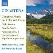 Mark Kosower: Ginastera: Cello and Piano Music (Complete) - CD