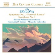 Konstantin Krimetz, Russian Philharmonia Orchestra, Alexander Vedernikov: Pavlova: Symphonies Nos. 1 and 3 - CD