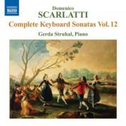 Gerda Struhal: Scarlatti: Complete Keyboard Sonatas, Vol. 12 - CD