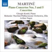 Giorgio Koukl: Martinu, B.: Piano Concertos, Vol. 1 - Nos. 3, 5 / Piano Concertino - CD