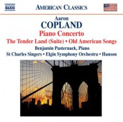 Robert Hanson: Copland: The Tender Land Suite / Piano Concerto / Old American Songs (Arr. for Chorus) - CD