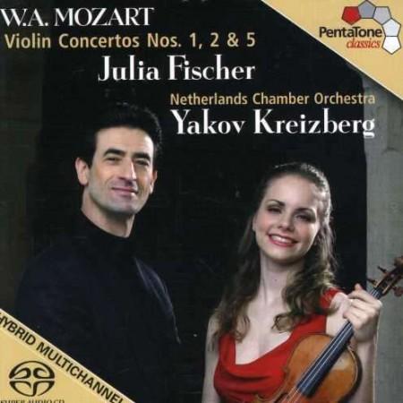 Julia Fischer, Yakov Kreizberg, Netherlands Chamber Orchestra: Violin Concertos Nos. 1, 2 & 5 - SACD