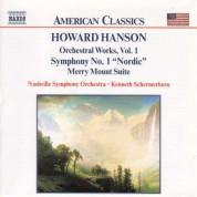 Hanson: Symphony No. 1, 'Nordic' / Merry Mount Suite - CD