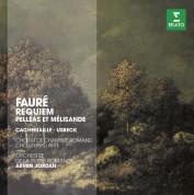 Gilles Cachemaille, Mathias Usbeck, Daniel Fuchs, Choeur Pro Arte de Lausanne, L'Orchestre de la Suisse Romande, Armin Jordan: Faure: Requiem, Pelleas & Melisande op. 80 - CD