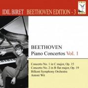 İdil Biret: Beethoven, L. Van: Piano Concertos, Vol. 1 (Biret) - Nos. 1, 2 - CD