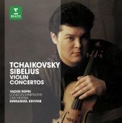 Vadim Repin, London Symphony Orchestra, Emmanuel Krivine: Tchaikovsky / Sibelius: Violin Concertos - CD