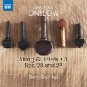 Elan Quintet: Onslow: String Quintets, Vol. 3 – Nos. 28 & 29 - CD