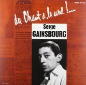Serge Gainsbourg: Du Chant A La Une !... - Plak