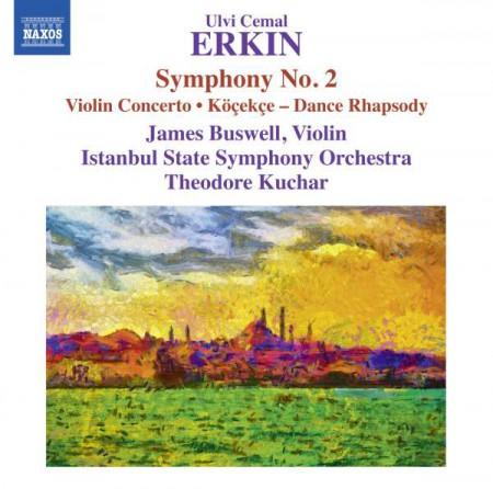 İstanbul Devlet Senfoni Orkestrası: Erkin: Symphony No. 2, Köçekçe, Violin Concerto - CD