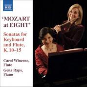 Gena Raps, Carol Wincenc: Mozart: 6 Violin Sonatas, K. 10-15 (Versions for Flute and Piano) - CD