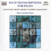 Bach Transcriptions for Piano - CD
