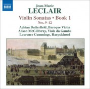 Adrian Butterfield: Leclair, J.-M.: Violin Sonatas, Op. 1, Nos. 9-12 - CD