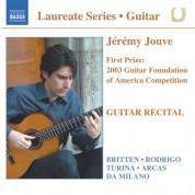 Guitar Recital: Jeremy Jouve - CD