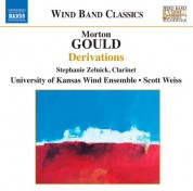 University of Kansas Wind Ensemble: Gould: Derivations - CD