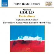 University of Kansas Wind Ensemble: Gould: Derivations - CD