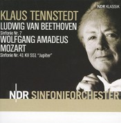 NDR Sinfonieorchester, Klaus Tennstedt: Beethoven/ Mozart: Symphony No. 7/ Symphony No. 41 - CD