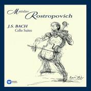 Mstislav Rostropovich: Bach: Cello Suites (Limited Deluxe Edition) - Plak