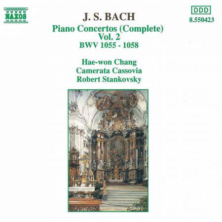 Bach, J.S.: Piano Concertos, Vol.  2 (Bwv 1055-1058) - CD