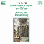 Bach, J.S.: Piano Concertos, Vol.  2 (Bwv 1055-1058) - CD