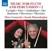 Marc Grauwels: Music for Flute and Percussion, Vol. 2 - CD
