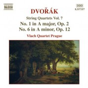 Vlach Quartet Prague: Dvorak, A.: String Quartets, Vol. 7 (Vlach Quartet) - Nos. 1, 6 - CD