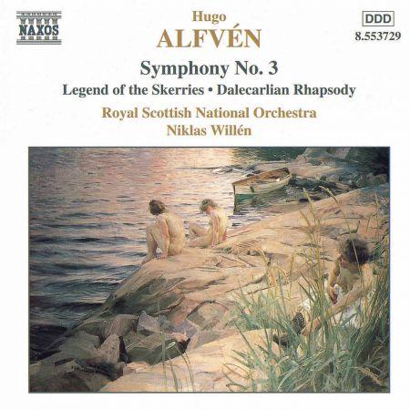 Alfven: Symphony No. 3 / Legend of the Skerries - CD