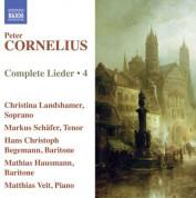 Hans Christoph Begemann, Mathias Hausmann, Christina Landshamer, Markus Schafer: Cornelius: Complete Lieder, Vol. 4 - CD