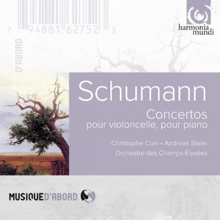 Andreas Staier, Christophe Coin, Philippe Herreweghe: Schumann: Cello & Piano Concertos - CD