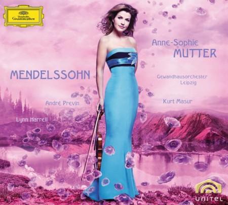 André Previn, Anne-Sophie Mutter, Gewandhausorchester Leipzig, Kurt Masur, Lynn Harrell: Mendelssohn: Violin Concerto - CD