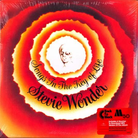 Stevie Wonder: Songs In The Key Of Life - Plak