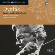 Berliner Philharmoniker, Herbert von Karajan: Dvorak: Symphonies No.8 & 9 - CD