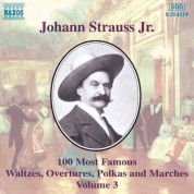 Strauss II: 100 Most Famous Works, Vol.  3 - CD