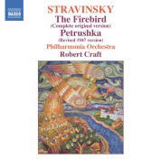 Stravinsky: The Firebird (Original Version) & Petrushka (1947 Version) - CD