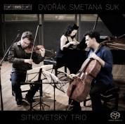 Sitkovetsky Trio: Dvořák, Smetana & Suk: Piano Trios - SACD