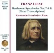 Liszt: Beethoven Symphonies Nos. 7 & 8 (Transcriptions) - CD