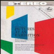 Byron Janis, Minneapolis Symphony Orchestra, Antal Doráti: Moussorgsky: Pictures At An Exhibition (orginal and orchestral version) - Plak